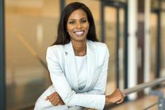 Kvinnlig företags arbetare Fotografering för Bildbyråer