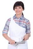 Kvinnlig kock Royaltyfria Bilder