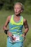 Kvinnlig löpare Arkivbild