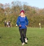 Kvinnlig löpare Arkivfoton