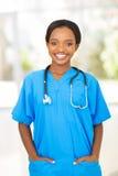 Kvinnlig medicinsk arbetare Royaltyfria Foton