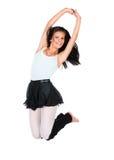 Kvinnlig modern dansare Arkivfoto