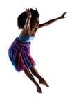 Kvinnlig modern dansare Arkivbild