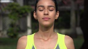 Kvinnlig och meditation Royaltyfria Foton