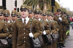 Kvinnlig polis Royaltyfri Foto