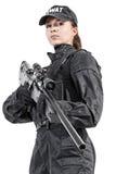Kvinnlig polis Arkivbilder