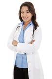 Kvinnlig sjukvårdarbetare Royaltyfri Fotografi