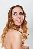 kvinnlig skönhet Fotografering för Bildbyråer