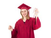 Kvinnlig student Arkivfoton