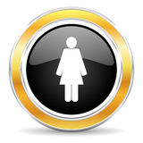 Kvinnlig symbol Arkivbilder