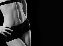 Kvinnliga abdominals Fotografering för Bildbyråer