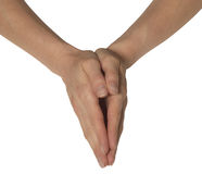 Kvinnliga händer Royaltyfri Fotografi