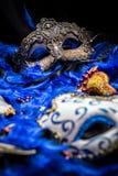 Kvinnliga karnevalmaskeringar Royaltyfri Foto