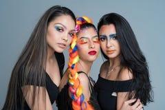 Kvinnliga modemodeller Royaltyfria Bilder