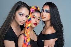 Kvinnliga modemodeller Royaltyfri Fotografi