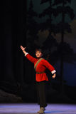 "Kvinnligmilis-Peking opera som ""Taking Tiger Montain By Strategyâ € Royaltyfria Bilder"