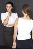 kvinnligmisstanke Royaltyfri Fotografi