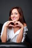kvinnligmodell Fotografering för Bildbyråer