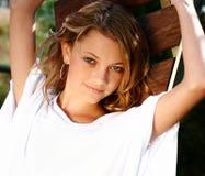 kvinnligmodell Royaltyfri Fotografi