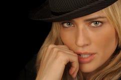 kvinnligmodell royaltyfria foton