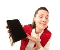 kvinnligpreacher Fotografering för Bildbyråer