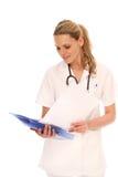 kvinnligsjuksköterska Royaltyfria Bilder
