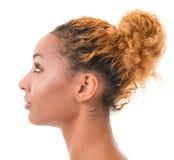 Kvinnligt profilera Royaltyfri Bild