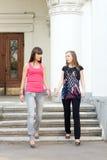 kvinnligvänner två Royaltyfri Foto