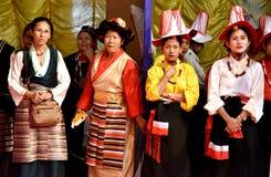 Kvinnor av norr östliga Indien Royaltyfria Foton