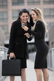 kvinnor för affär två arkivbilder