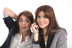 kvinnor för affär två Royaltyfri Fotografi
