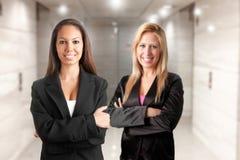 kvinnor för affär två Arkivbild