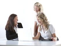 kvinnor för affärsgrupp Arkivbild