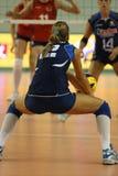 kvinnor för mästerskapfivbitaly s volleyboll Arkivfoto