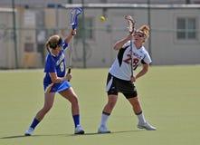 kvinnor för ncaa s för lacrosse slappa Arkivfoton