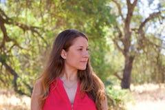 kvinnor för park för mänsklig natur Royaltyfri Bild