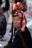 Kvinnor från Ladakh, Indien Royaltyfri Bild