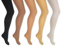 kvinnor för ben s Arkivfoto