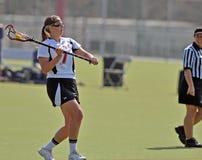 kvinnor för ncaa s för lacrosse slappa Fotografering för Bildbyråer