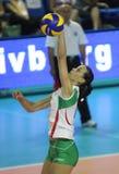 kvinnor för volleyboll för bulgaria mästerskapfivb s Royaltyfria Bilder