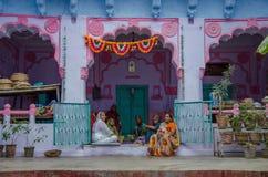 Kvinnor i Jodhpur Royaltyfri Foto