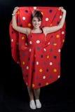 Kvinnor i retro klänning arkivfoton