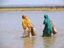 Kvinnor i Sudan, Afrika Royaltyfri Foto