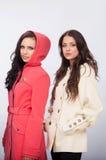 Kvinnor och kläder Royaltyfria Foton