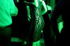 Kvinnor som dansar på partiet Arkivfoton