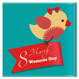Kvinnors dag vektor illustrationer