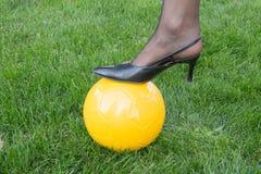 Kvinnors fotboll Arkivfoto