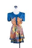 Kvinnors härliga klänning Royaltyfri Foto