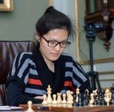 Kvinnors mästerskap för världsschack Lviv 2016 Fotografering för Bildbyråer