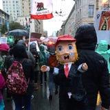 Kvinnors mars San Francisco Royaltyfria Bilder